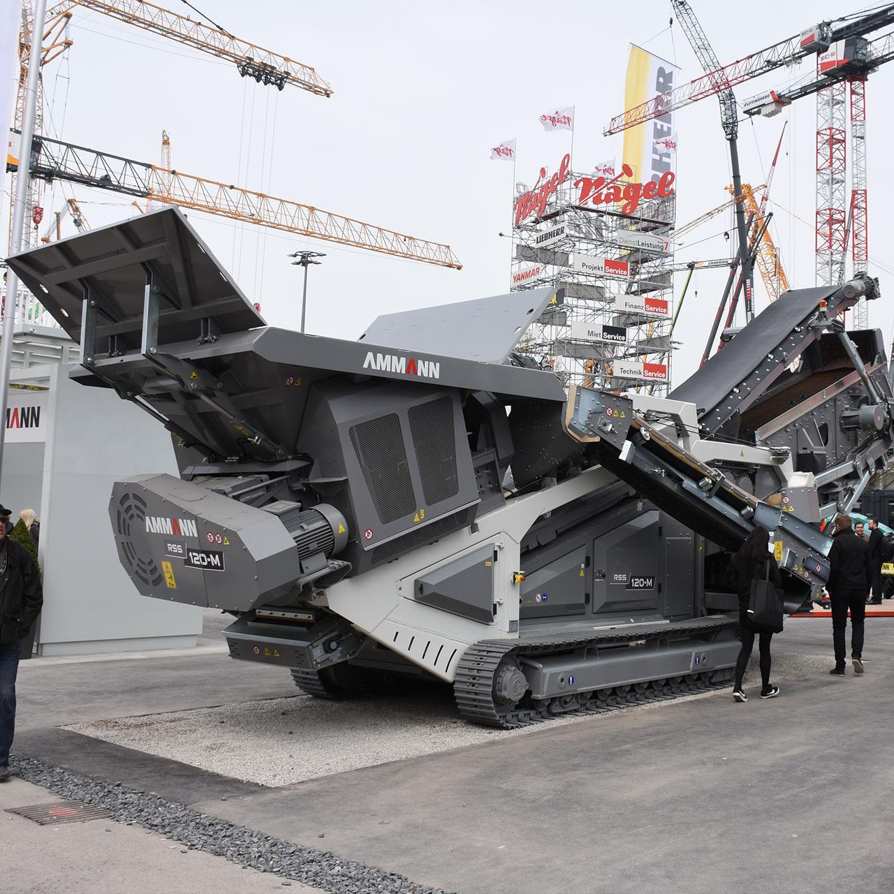 AMMANN: Asphaltaufbereitung RSS-120M