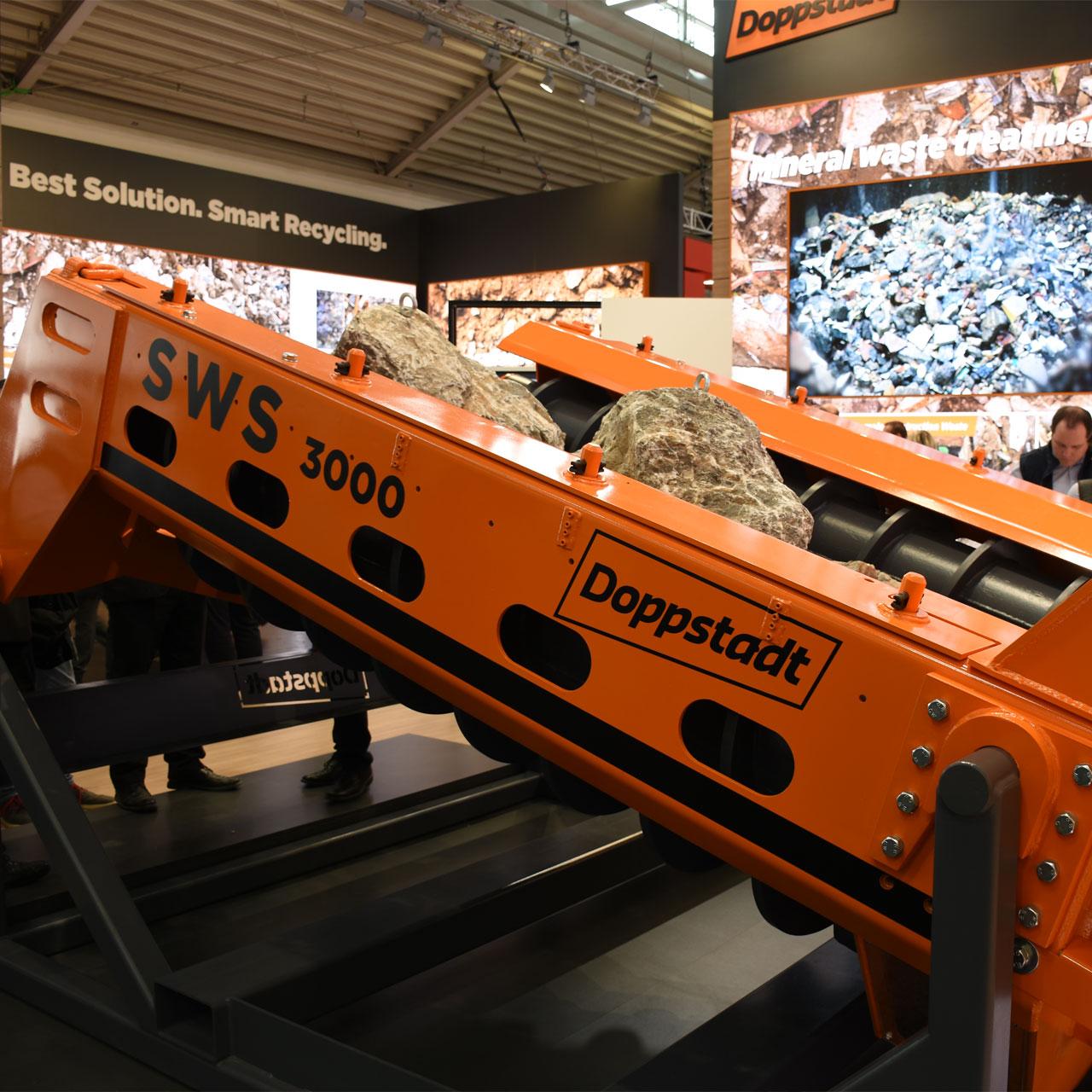 Doppstadt: Spiralwellenseparator SWS 3000