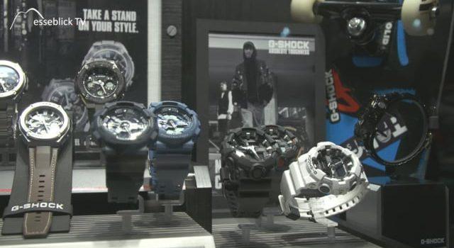 CASIO Uhren Kollektion G-Shock + G-Steel