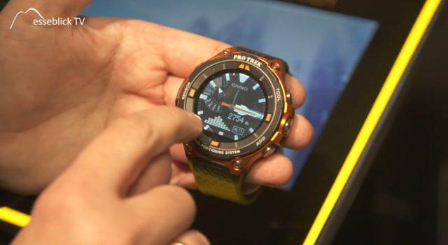 CASIO Uhren – Pro Trek Smartwatch