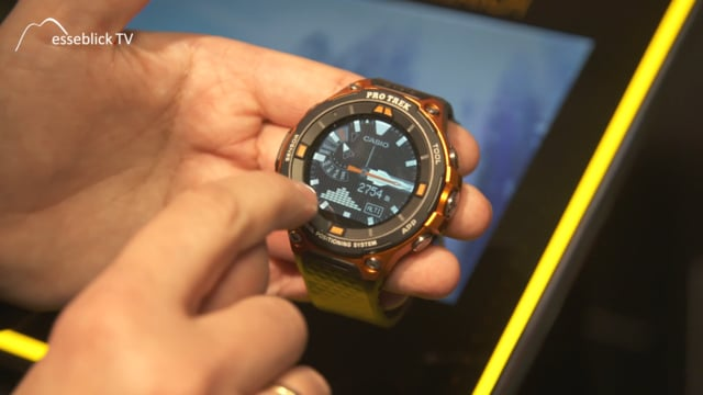 casio uhren pro trek smartwatch messe tv. Black Bedroom Furniture Sets. Home Design Ideas