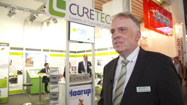 CureTec: AllCure Beton Erhärtungssystem, bauma 2019
