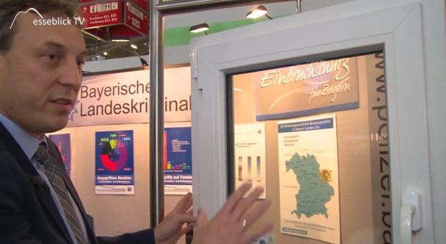 Einbruchschutz, Bayerisches Landeskriminalamt – Video Heim+Handwerk 2017