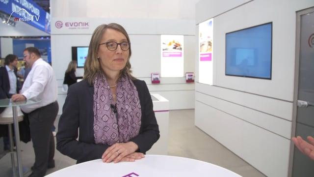 Evonik: Energieeffiziente und umweltschonende Produkte, bauma 2019