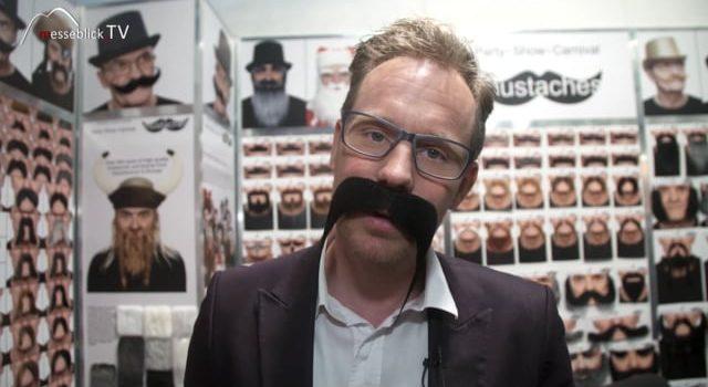 Falsche Bärte, Mustaches – Spielwarenmesse 2018