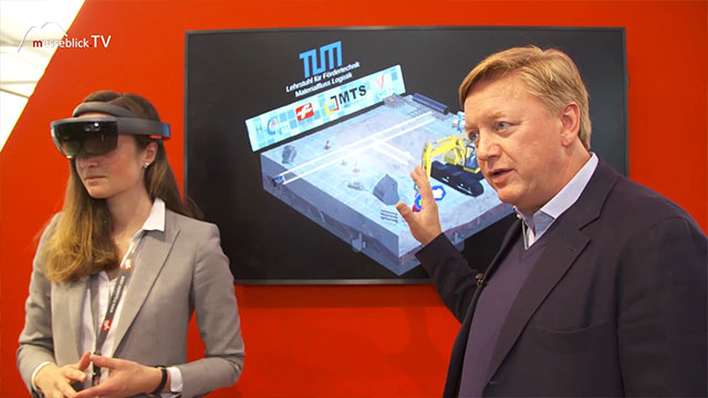 FRITZMEIER: Digitalisierung Baustelle - Innovationspreis, bauma 2019
