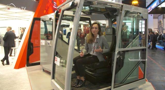 Fritzmeier: Global Cab Fahrerkabine, bauma 2019