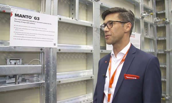 HÜNNEBECK: Manto Rahmenschalung, bauma 2019
