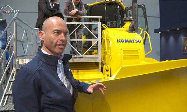 KOMATSU: Bulldozer D61PXi-24, bauma 2019