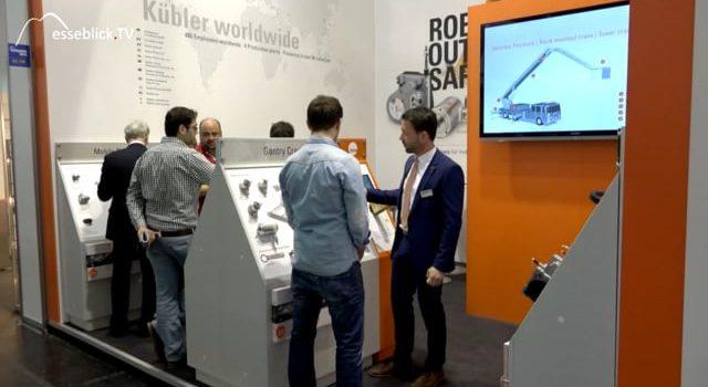 Kübler mobile Automation für Baumaschinen