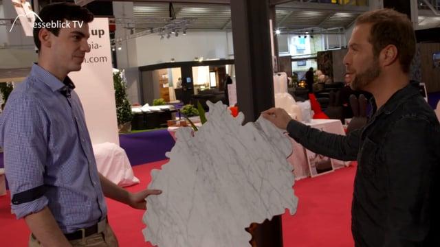 Monachia design individuelle tischplatten marmor granit for Designer tischplatten