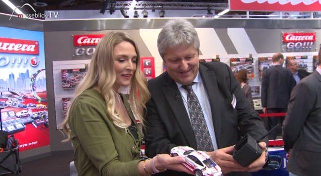 Rennwagen mit Cockpit-Kamera, Carrera – Spielwarenmesse 2018