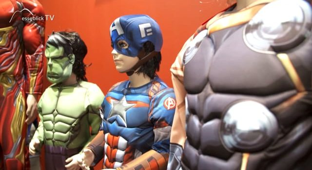 Rubie's: Marvel Kostüme – Spielwarenmesse 2019