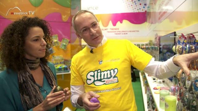 Slimy: Knete Genius - Spielwarenmesse 2019