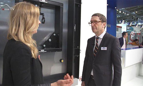 Weckenmann: AR Brille Betonfertigteilherstellung, bauma 2019