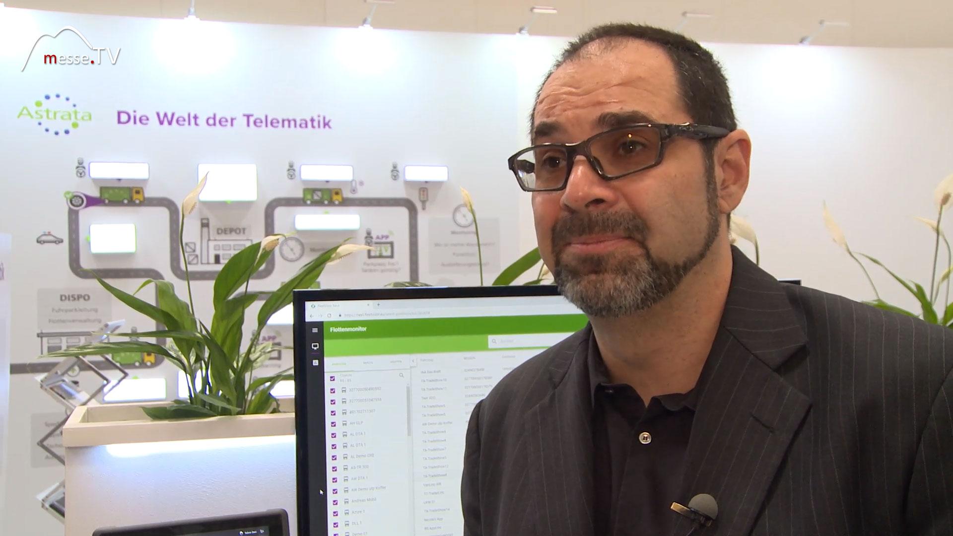 Astrata Telematik Interview Abdallah Harati transport logistic 2019