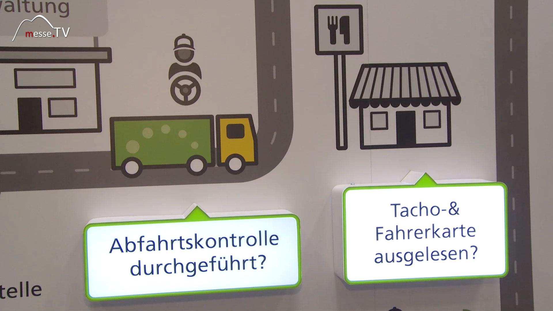 Astrata: Telematik, Tacho- und Fahrerkarte ausgelesen?