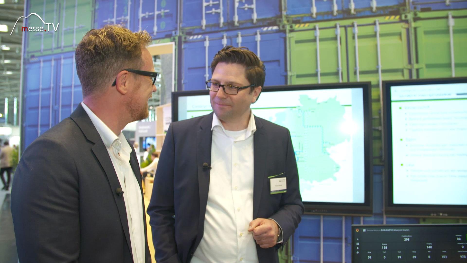 Contargo Logistik Interview Henrik Hanke transport logistic 2019