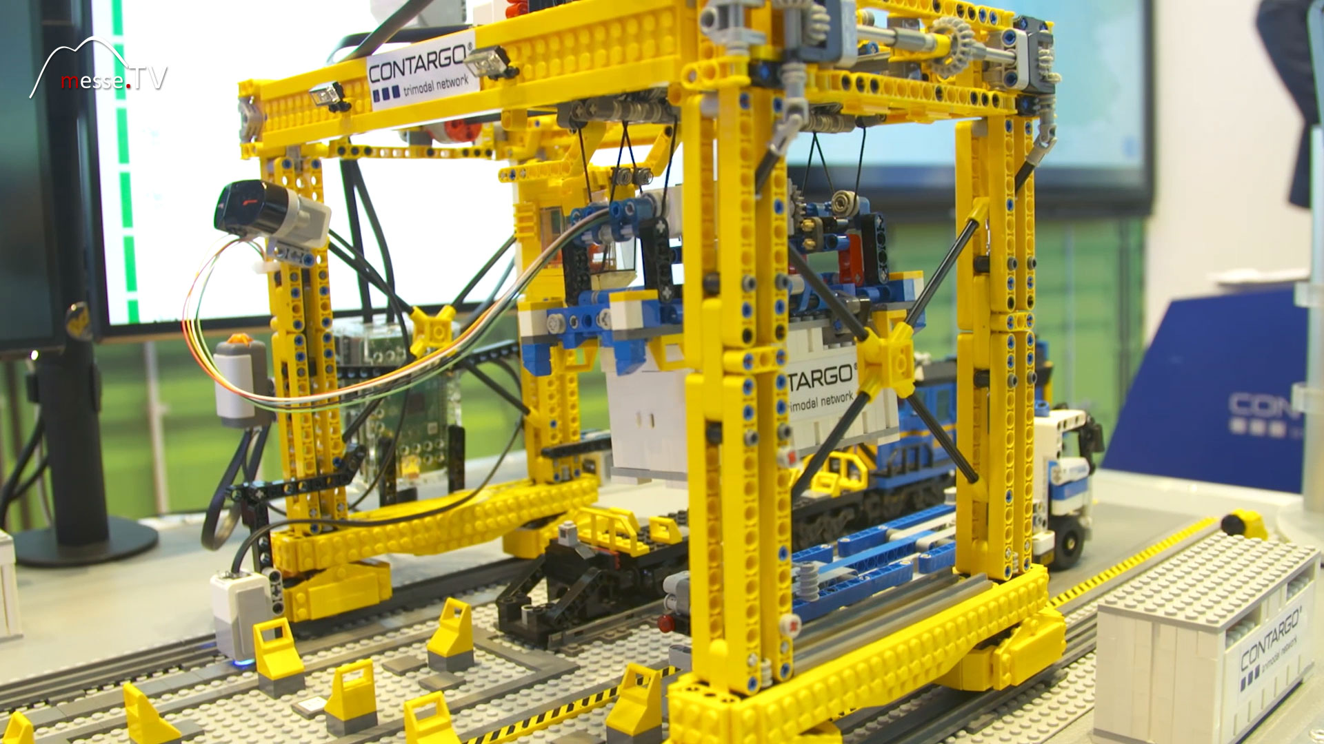 Contargo Logistik Modell Terminalprozesse