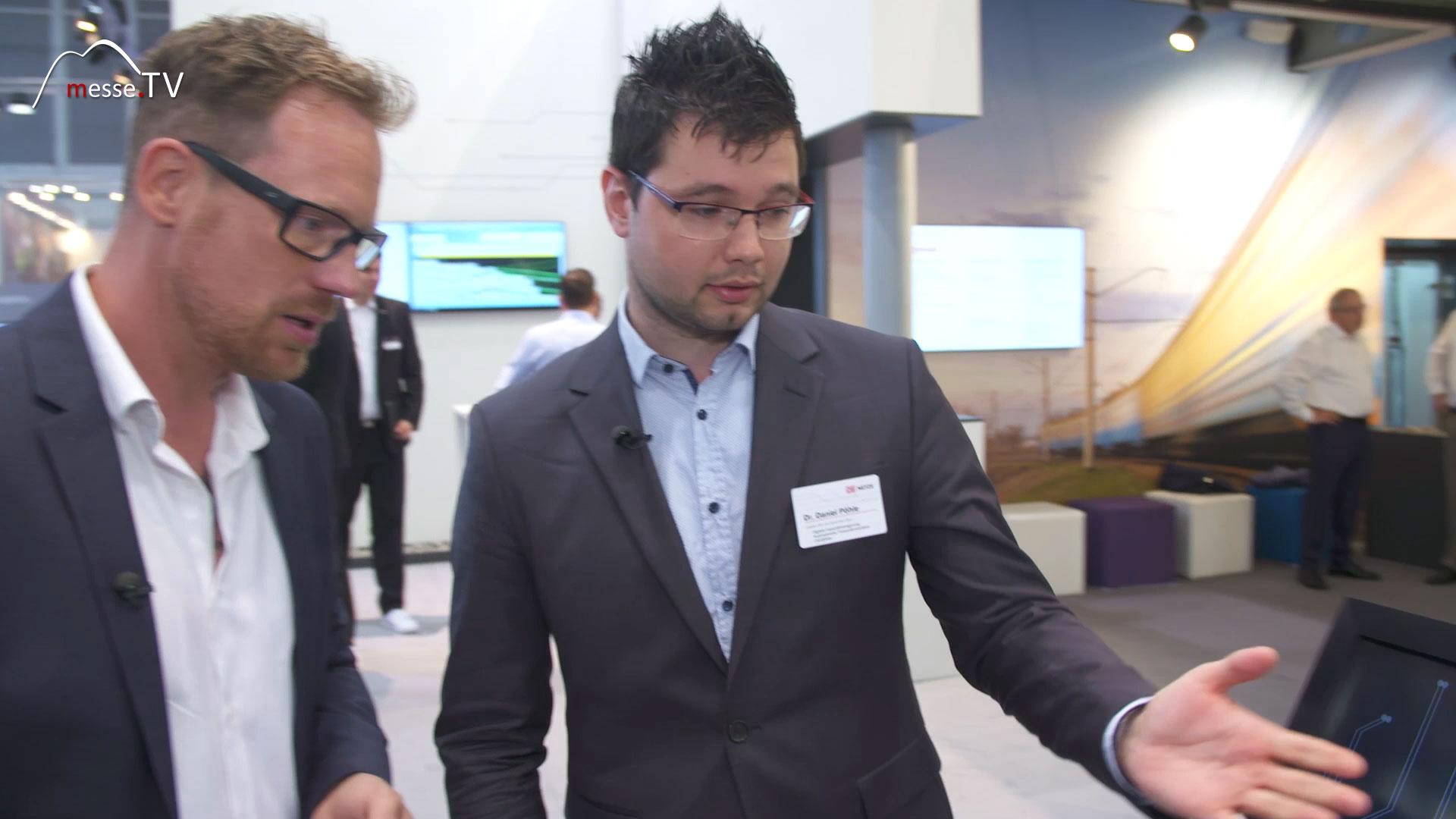 DB NETZE: Click&Ride, Interview Dr. Daniel Pöhle