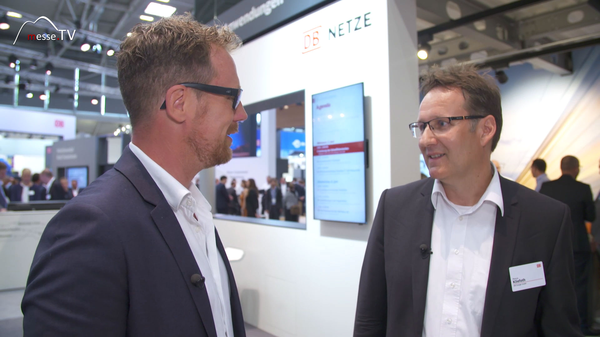 DB NETZE: Interview Marcus Kliefoth transport logistic 2019