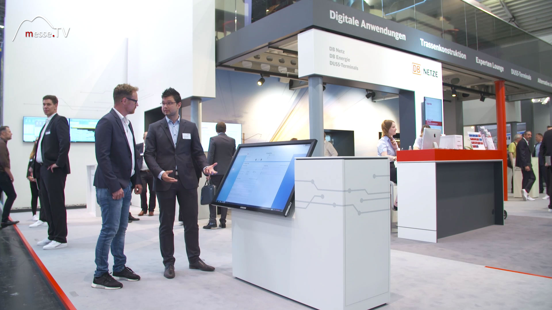 DB NETZE: Messestand transport logistic 2019 Messe München