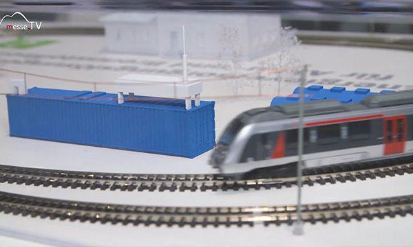 DB Netze: Wasserstoffzug, transport logistic 2019