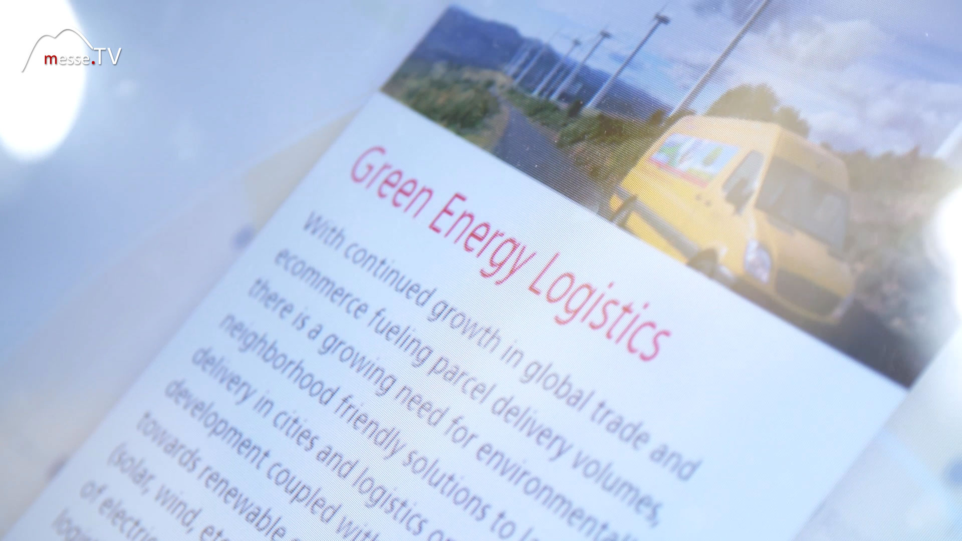 DHL Group: Trend Radar Green Energy Logistics