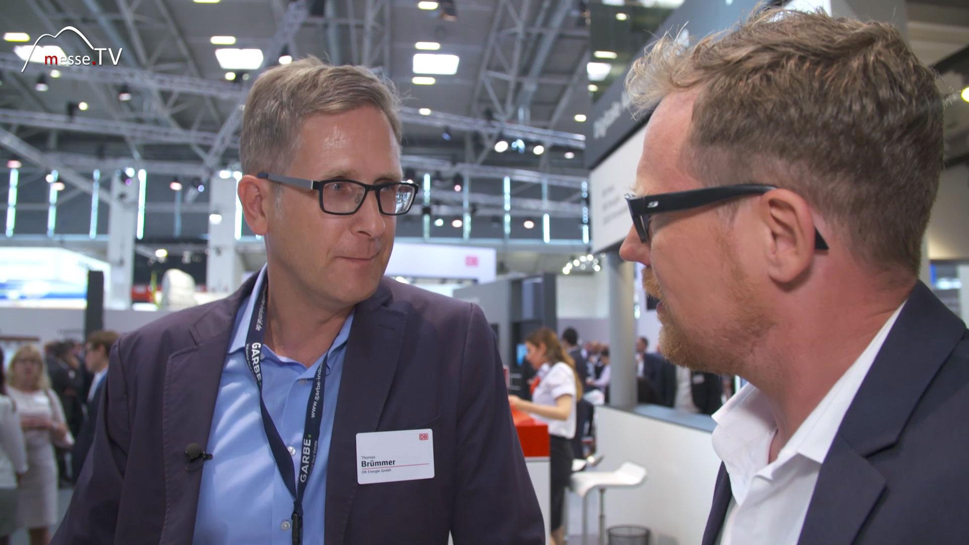Deutsche Bahn: DB NETZE - Interview Wasserstoffzug, Brennstoffzellen
