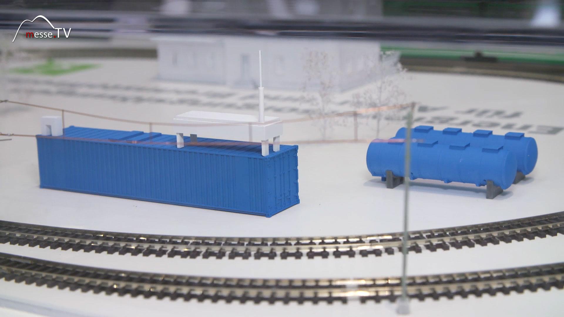 Deutsche Bahn: DB NETZE -Wasserstofftankstelle Zug
