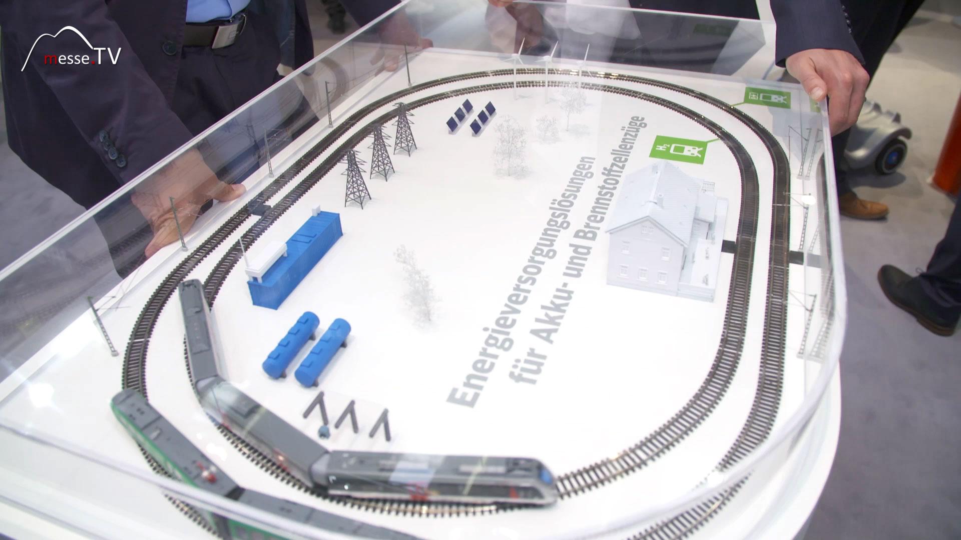 Deutsche Bahn: DB NETZE Wasserstoffzug
