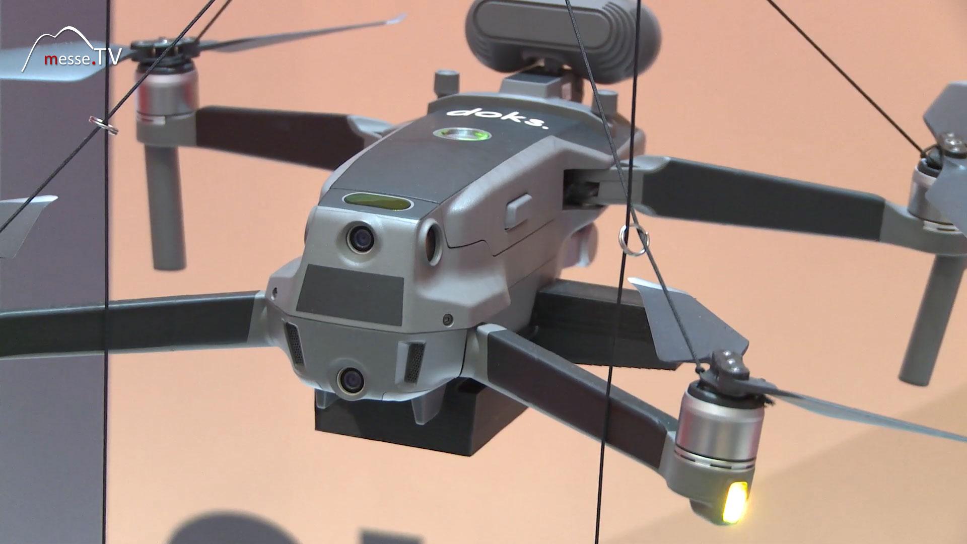 Drohne Logistik Hochregal GROUP7 doks.innovation