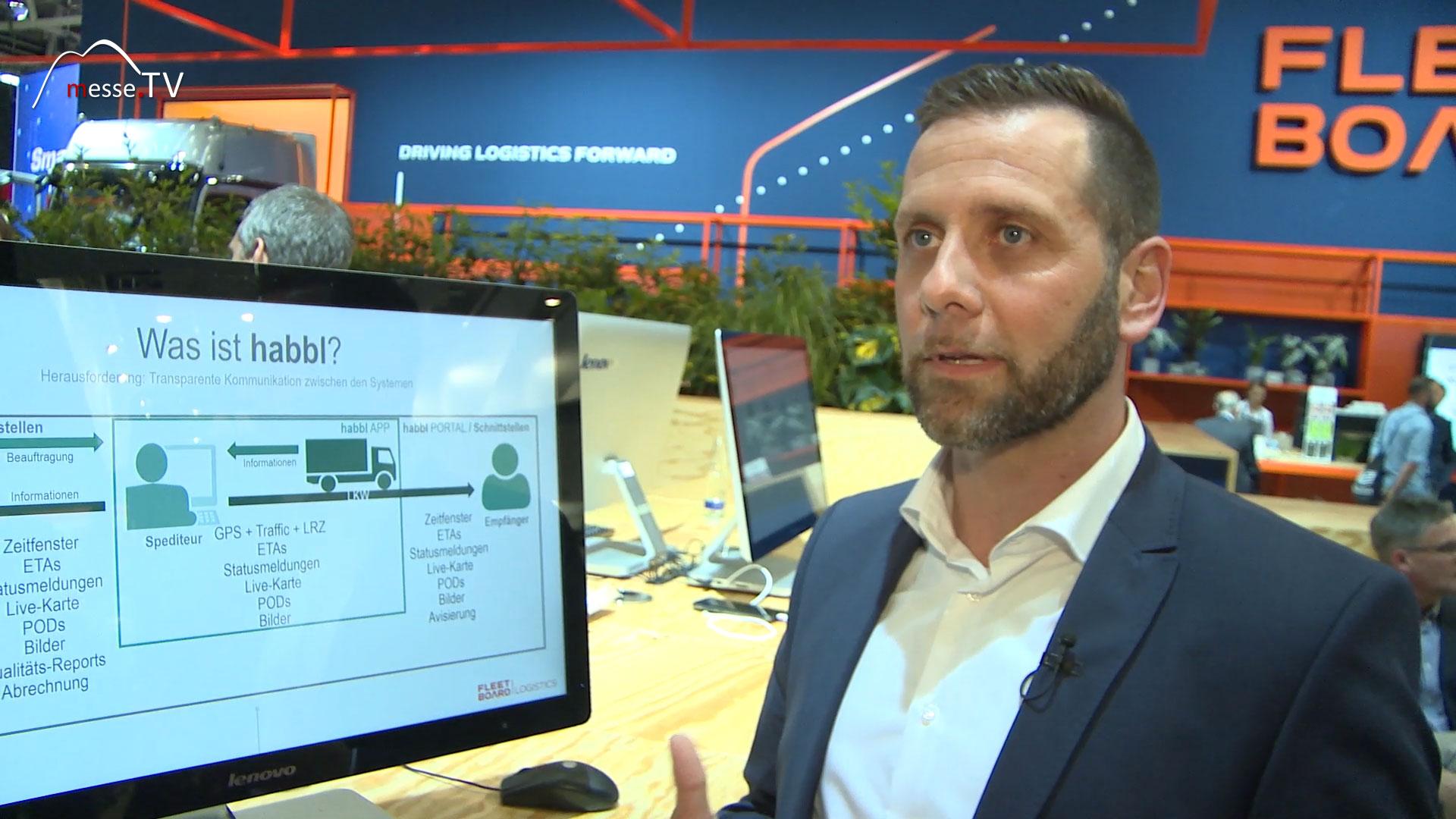 FLEETBOARD habbl APP Digitalisierung Logistikprozesse