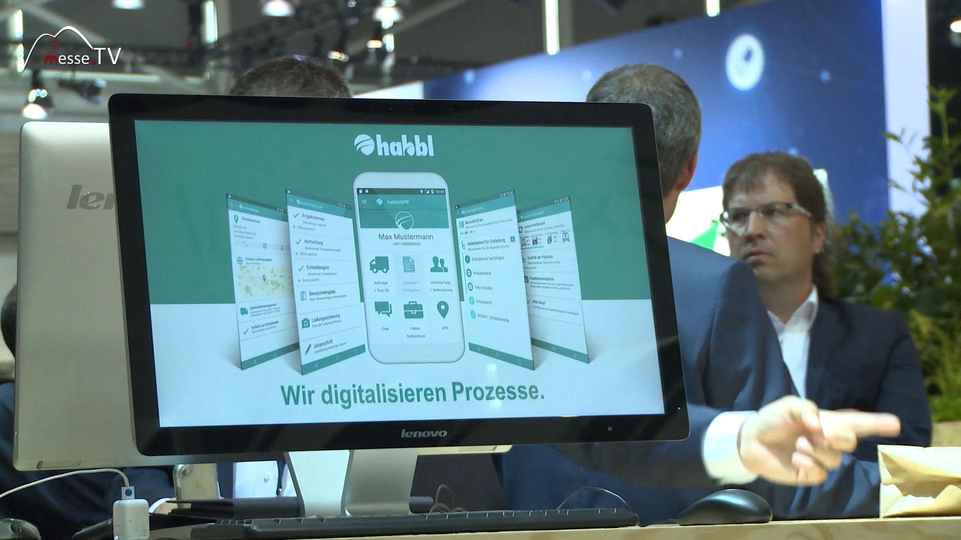 FLEETBOARD habbl App  - Prozesse digitalisieren