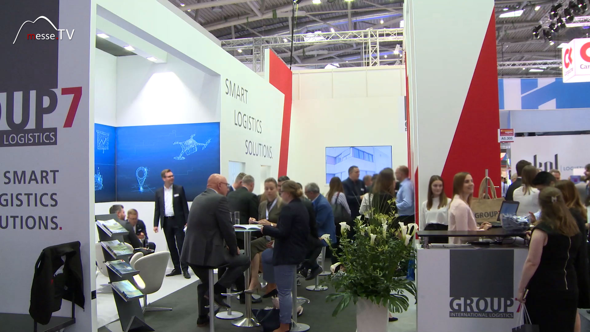 GROUP7 Messestand transport logistic 2019 Messe München