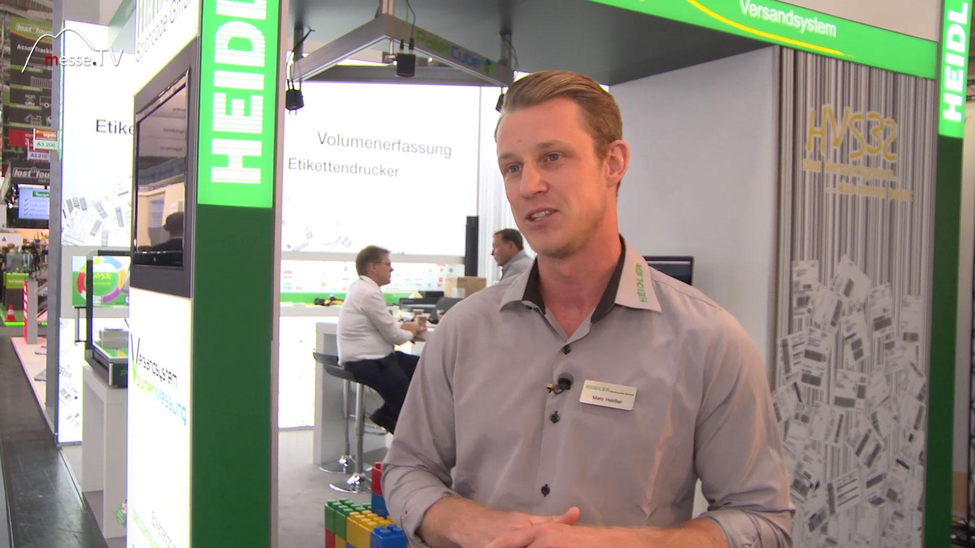 HEIDLER CEO Mats Heidler transport logistic 2019 Messe München