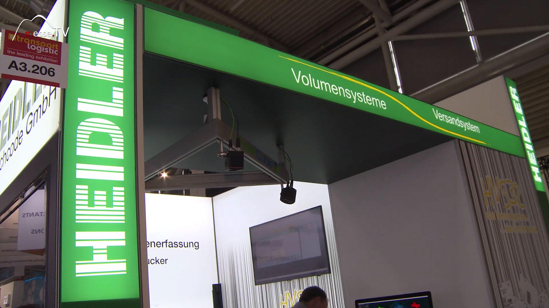 HEIDLER Messestand transport logistic 2019 Messe München