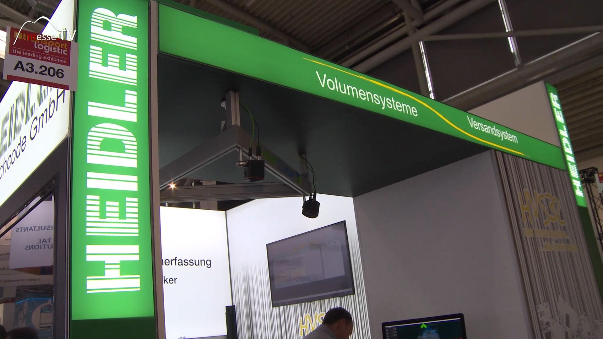HEIDLER Versandsystem und Volumensysteme, transport logistic München