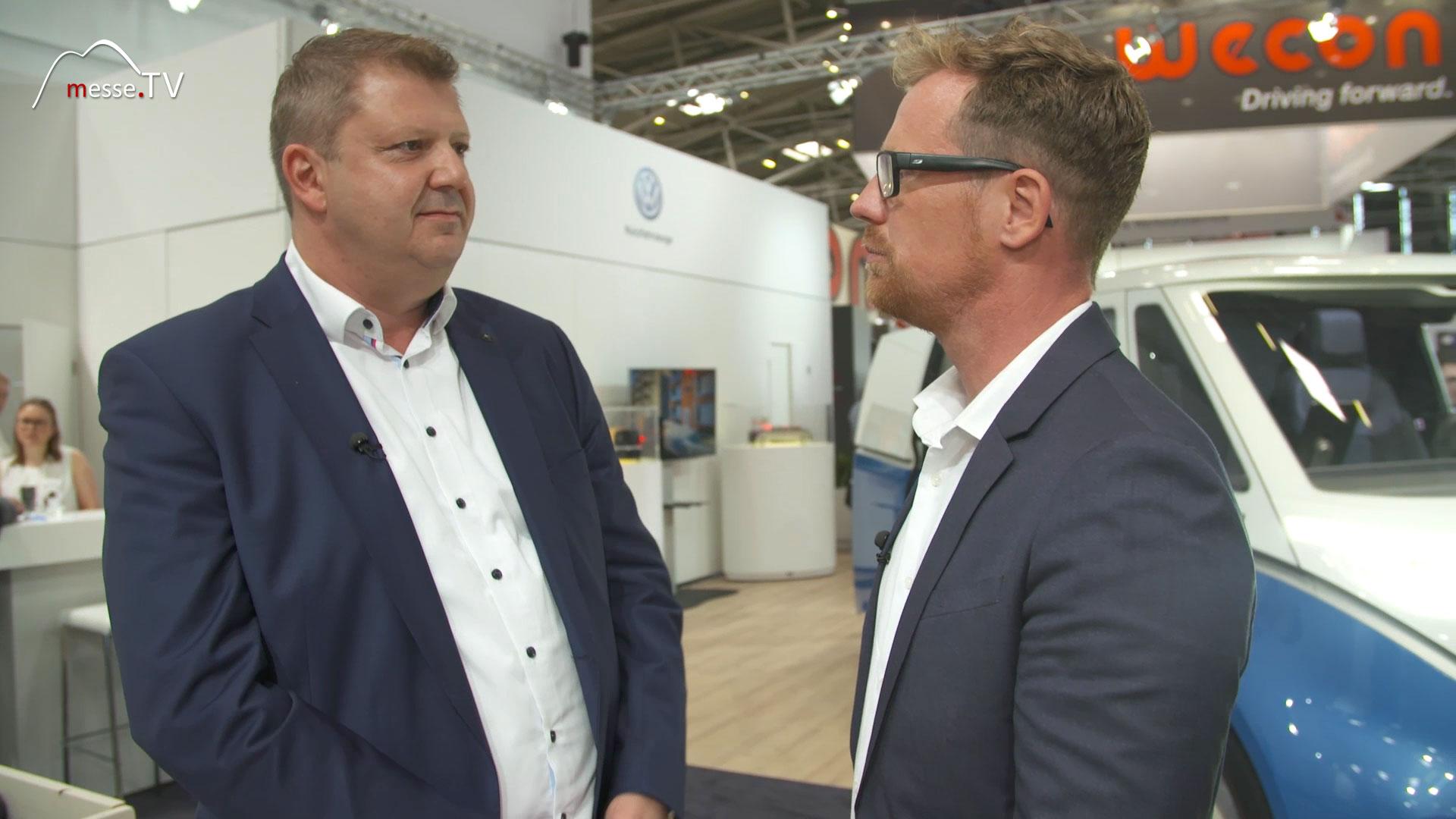 Interview Bjoer Steuer, VW Nutzfahrzeuge, transport logistic 2019