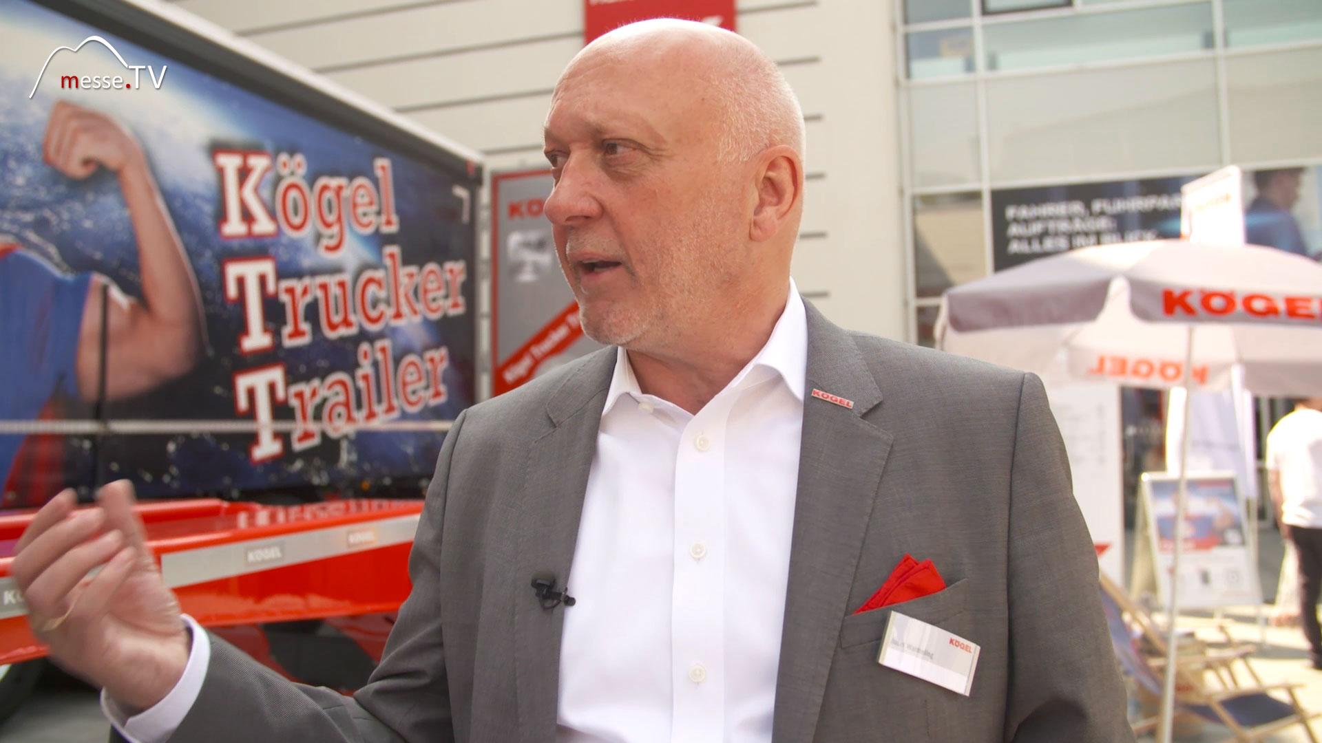 KÖGEL Trailer: Interview Josef Warmeling transport logistic
