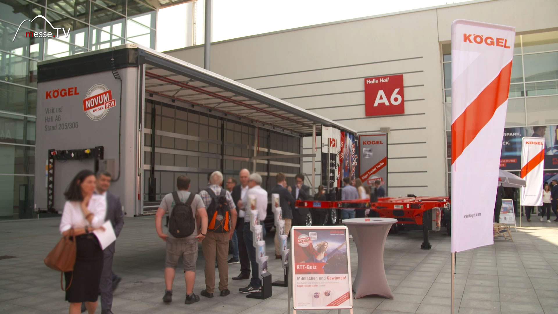 KÖGEL Trailer:  transport logistic 2019 Messe München