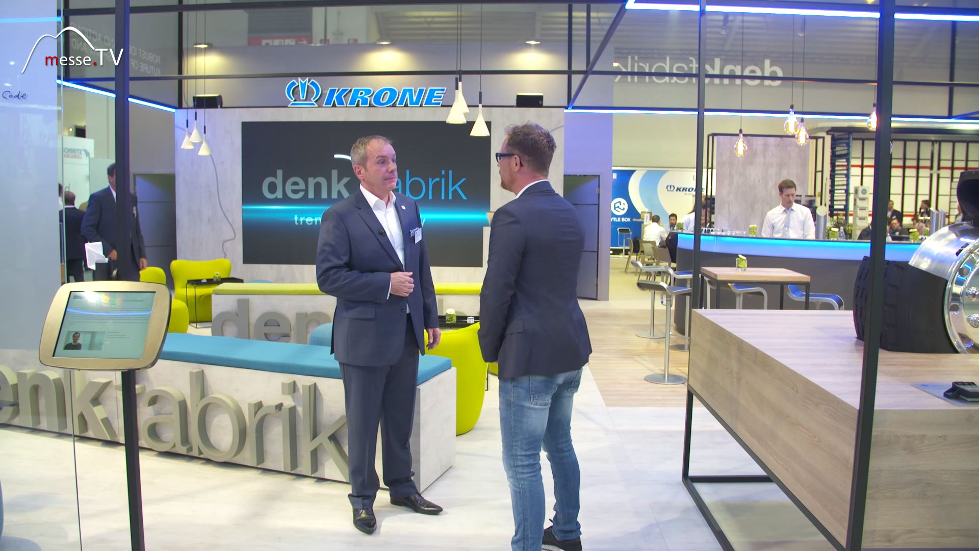 KRONE Interview Denkfabrik trends in mobility Messe München