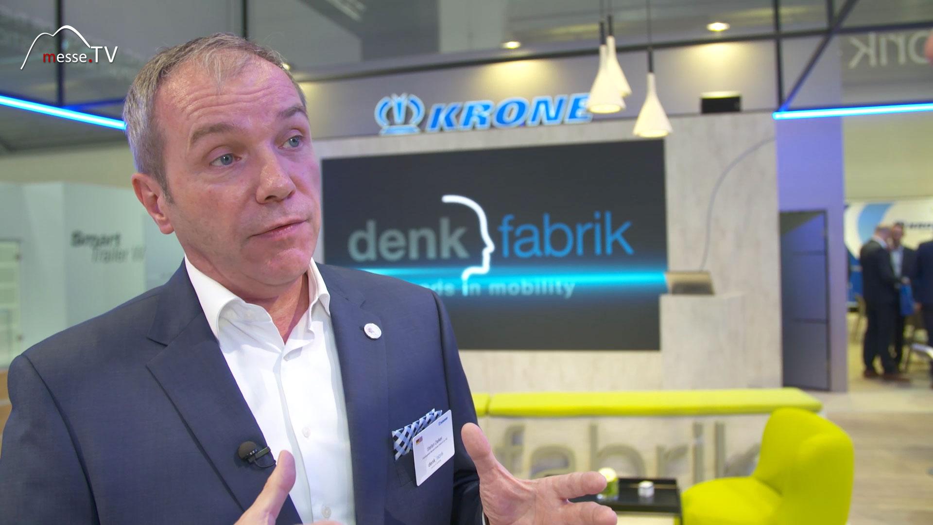 KRONE Interview Stefan Oelker Denkfabrik transport logistic