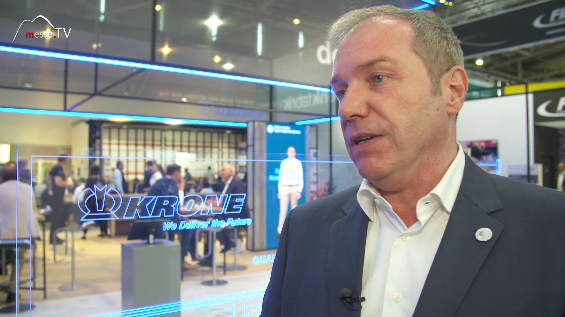 KRONE Interview Stefan Oelker transport logistic Messe München