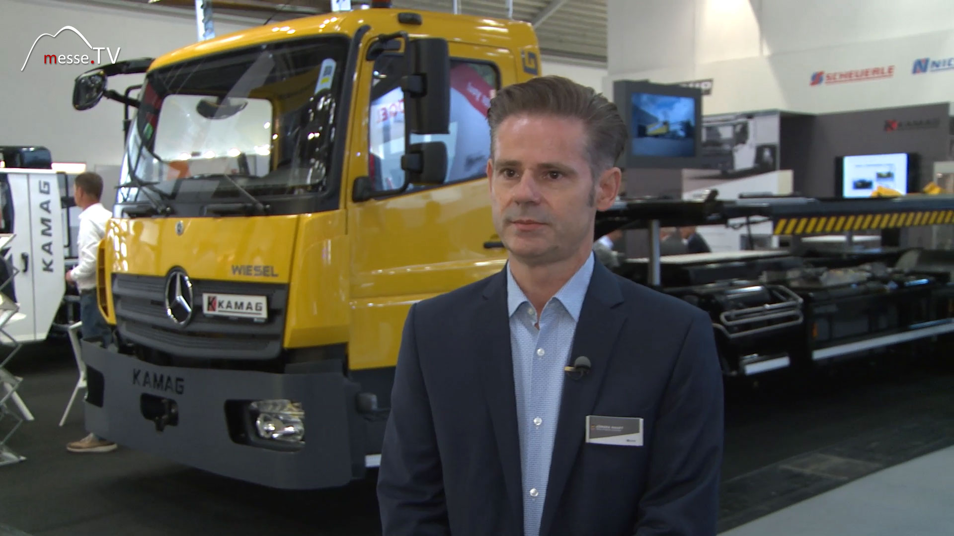 Kamag Transporttechnik Interview Jürgen Haupt
