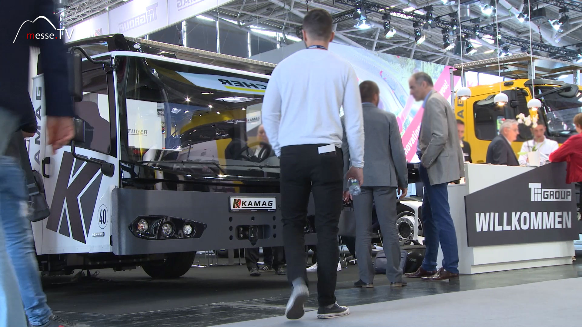 Kamag Transporttechnik Messestand transport logistic 2019 Messe München