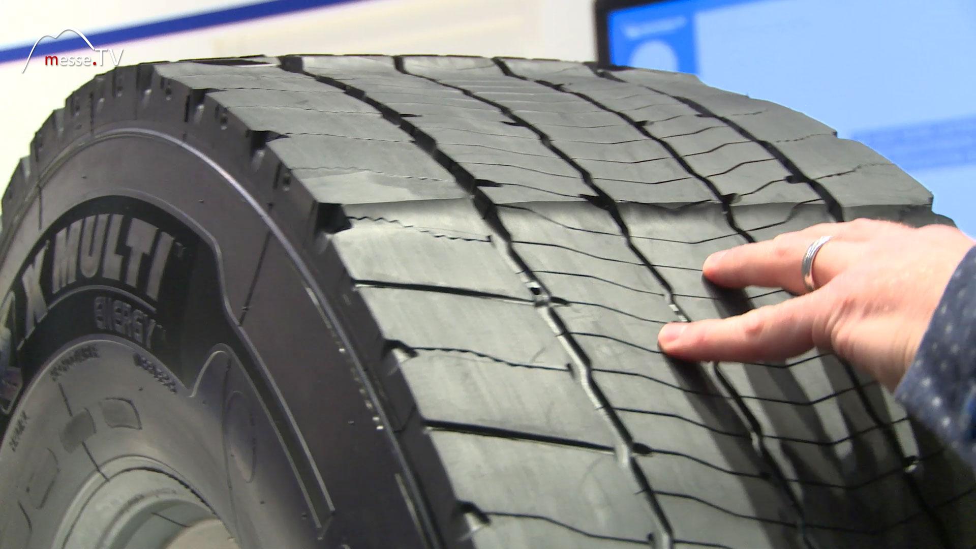 MICHELIN Reifenhersteller Reifenprofil