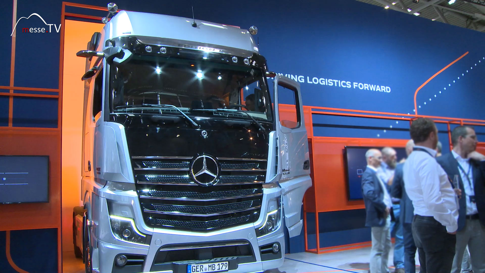 Mercedes-Benz Messestand transport logistic 2019 Messe München