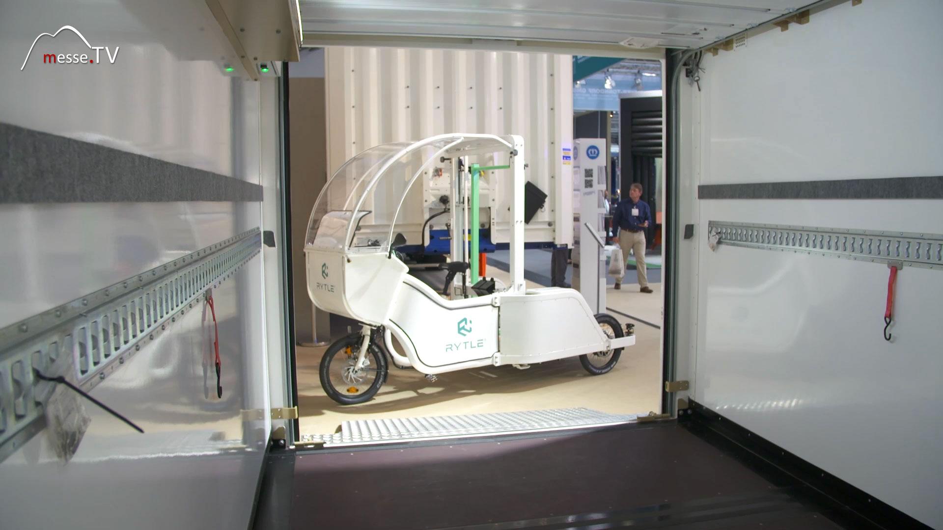 RYTLE Micro-Hub für konfektionierte Boxen zur Auslieferung