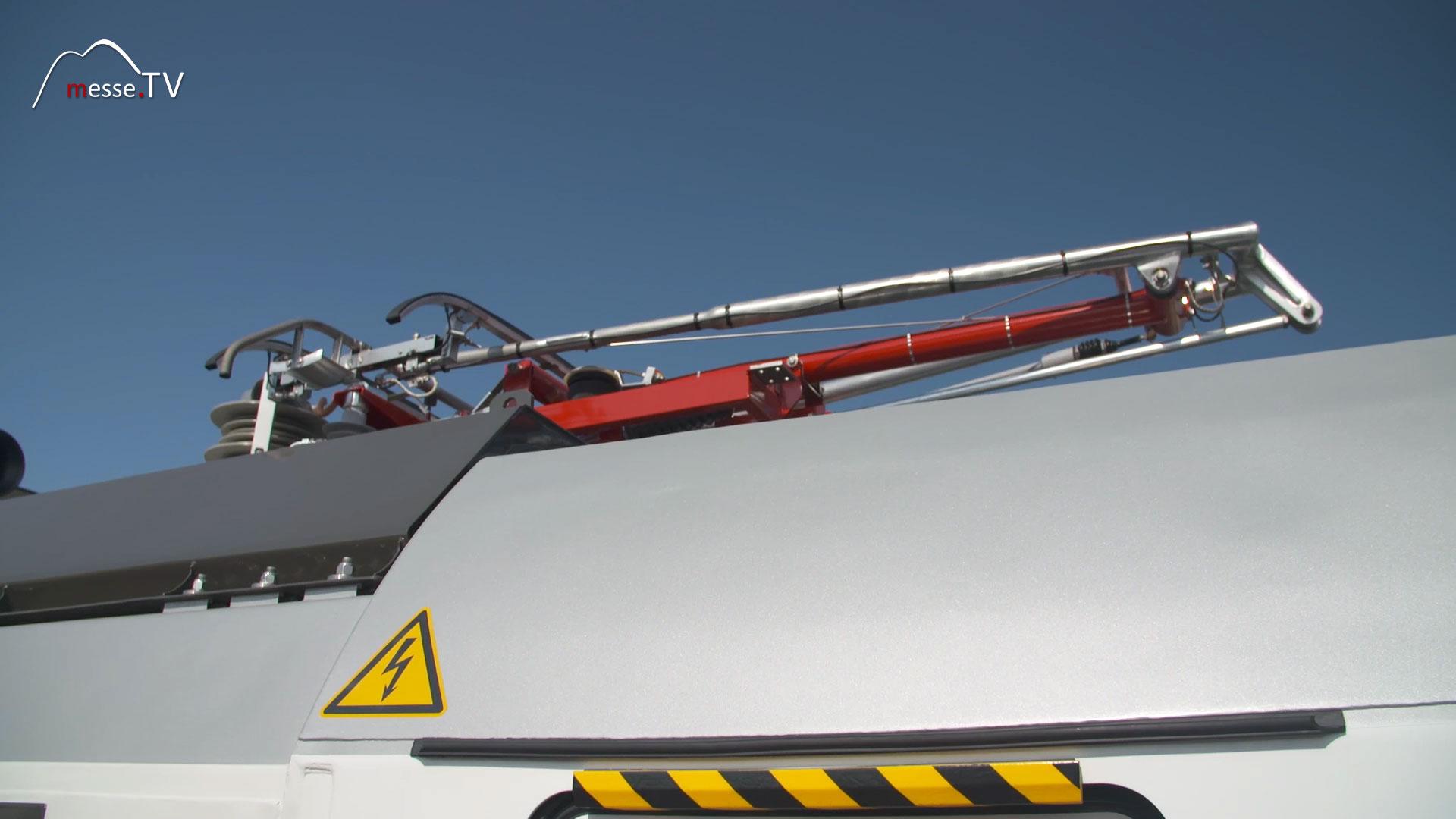 Siemens Vectron Dual Mode Lokomotive Pantograph